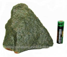 Basalto Verde Bruto Para Colecionador ou Estudante Cod BV8189
