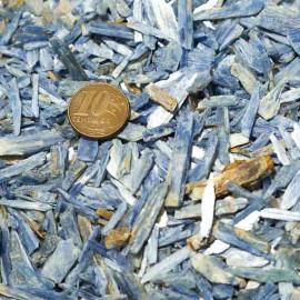 Cascalho Cianita Azul 200gr Pequeno Bruto Natural Pra Orgonite