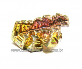 Bismuto Mineral ou Bismuth Stone Pedra Natural Cod BB2367