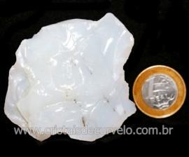 Opala Branca Pedra Genuina P/Coleçao ou Lapidaçao Cod 123813