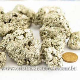 1kg Pirita Peruana Bruta natural Para lapidar ou Revenda ATACADO