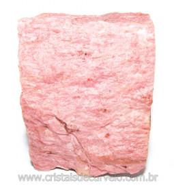 Jaspe Rosa Do Peru Pedra Bruta Natural de Garimpo Cod 114851