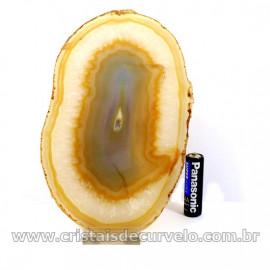 Chapa de Agata Natural  Porta Frios Bandeja Pedra Natural 127041
