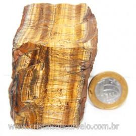Olho de Tigre Pedra Extra Bruto Natural da África Cod 121211