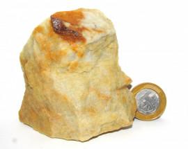 Escoria Quartzo Vermelho Pedra natural de garimpo Cod QV1320