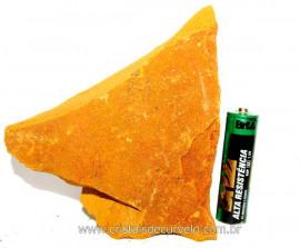 Jaspe Amarelo Pedra Bruta Natural Para Esoterismo Cod JA2627