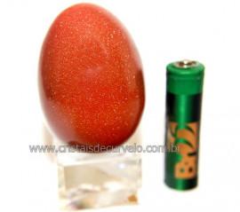 Ovo Pedra do Sol Feito Manualmente P/Colecionador Cod 110581