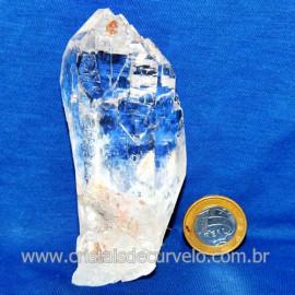 Lemuria Pequeno Quartzo Comum Cristal Lemuriano Natural Cod 119438