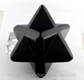 MerkabaH Media Pedra Quartzo Preto natural Boa Qualidade Cod 500.5