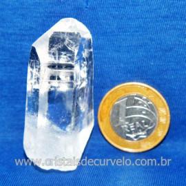 Lemuria Pequeno Quartzo Comum Cristal Lemuriano Natural Cod 119464
