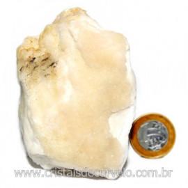 Selenita Laranja Pedra Natural Para Esoterismo Cod 123995