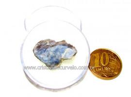 Safira Corindon Mineral Natural Estojo Colecionar Cod SC7688