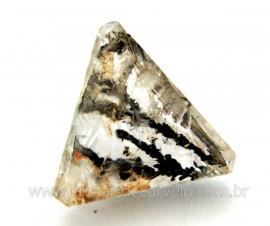 Dendrita Gema Trillion Facetado Montagem de Joias Pedra natural Cod GT6187