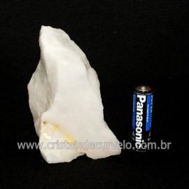 Quartzo Leitoso ou Branco Pedra Bruto Natural Cod 118660
