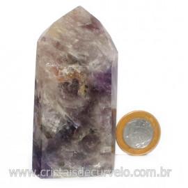 Ponta Pedra Fumetista Natural garimpo Lapidado Cod 128703