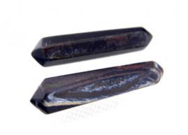 Bi Terminado OLHO DE FALCAO Pedra Extra Lapidado Tamanho Mini 2.5  Cm