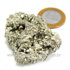Pirita Peruana Pedra Extra Com Belos Cubo Mineral Cod 124215
