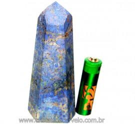 Ponta Dumortierita Pedra Natural Gerador Sextavado Cod PD5726