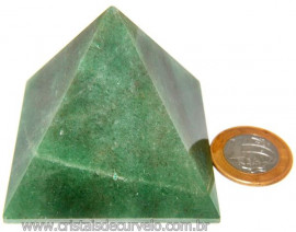 Piramide Pedra Quartzo Verde Baseada Queops Cod 109028