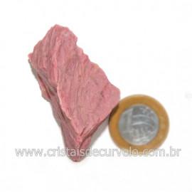 Jaspe Rosa Do Peru Pedra Bruta Natural de Garimpo Cod 128552