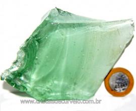 Obsidiana Verde Pedra Vulcânica Para Colecionador Cod 107798