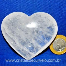 Coração Cristal Comum Qualidade Natural Garimpo Cod 117459