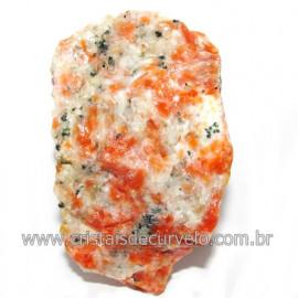 Calcita Laranja Mineral Bruto Natural Esoterismo Cod 117979