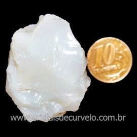 Opala Branca Pedra Genuina P/Coleçao ou Lapidaçao Cod 123817