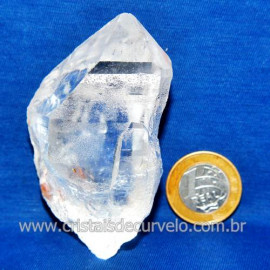 Lemuria Pequeno Quartzo Comum Cristal Lemuriano Natural Cod 119442
