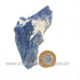 Sodalita Azul Natural de Garimpo Para Colecionar Cod 122890