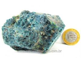 Apatita Azul Em Bruto Pedra Media  Para Esoterico ou Colecionador Cod 194.8
