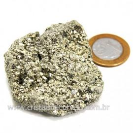 Pirita Peruana Pedra Extra Com Belos Cubo Mineral Cod 124217