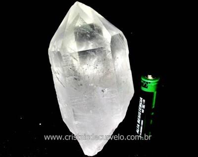 Ponta Cristal Bruto Quartzo de Garimpo Natural Cod CB1610
