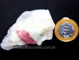 Turmalina Rosa ou Vermelha Pedra Pequena Extra Cod 106190
