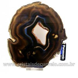 Chapa de Agata Cornalina Porta Frios Bandeja Pedra Natural 127038