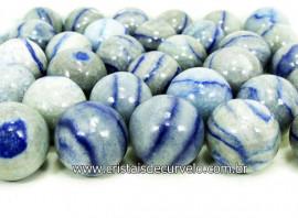 10 Mini Bola Aventurina Azul Esfera Pedra Natural e Pequena ATACADO