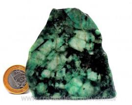 Esmeralda Bahia Chapa Lapidado Pedra Extra Natural Cod CE2643