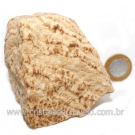 Aragonita do Peru Pedra Bruto Mineral de Garimpo Cod 122980