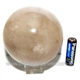 Esfera Quartzo Cristal Tok Fumê Extra Quartzo Fumado 119814