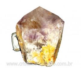 Ametista Terminado Grande Base Serrada Bruto Natural Mineral Comum Cod 5.000