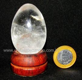 Ovo Pedra CRISTAL Extra Quartzo Natural de Garimpo cod OC5967