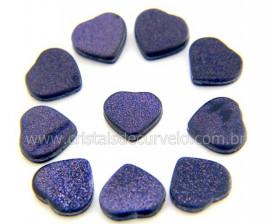 10 Coração Pedra Estrela Ranhurado Pra Montagem REFF CR1604