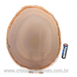 Chapa de Agata natural  Porta Frios Bandeja Pedra Natural 123414