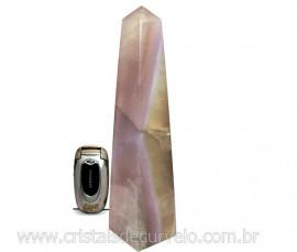 OBELISCO FLUORITA Pedra Grande Lapidada Natural de Garimpo Cod 1.450