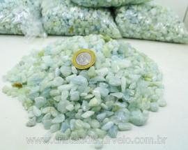 Agua Marinha Rolado T Médio Pacotinho 200Gr Pedra Natural Comum Qualidade