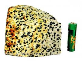 Jaspe Dalmata Pedra Natural Mineral de Esoterismo Cod JD5299