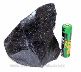 Pedra Estrela Pigmento Dourado Bruto Para Lapidar Cod 103434