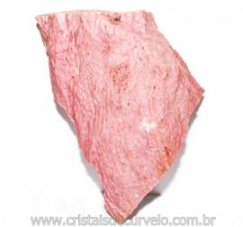 Jaspe Rosa Do Peru Pedra Bruta Natural de Garimpo Cod 114845