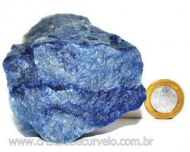 Quartzo Azul ou Aventurina Azul Bruto Natural Cod 110791