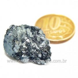 Galena Pedra Bruto Mineral Fonte Chumbo e Prata Cod 124243
